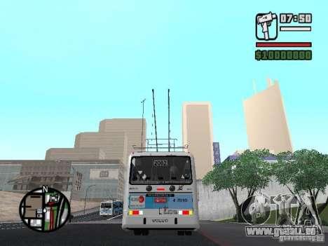 Marcopolo Torino GV Trolebus für GTA San Andreas rechten Ansicht