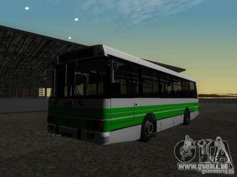 LAZ 42021 LRS pour GTA San Andreas vue arrière