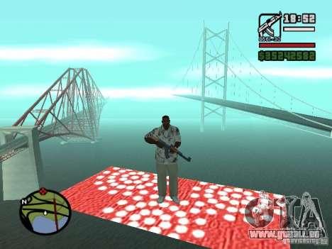 Fliegender Teppich für GTA San Andreas dritten Screenshot
