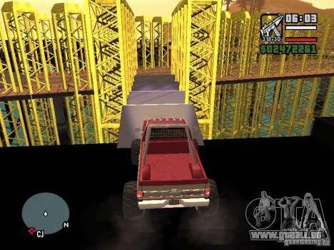 Monster tracks v1.0 pour GTA San Andreas huitième écran