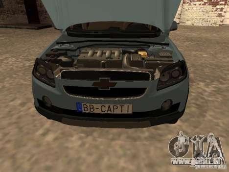 Chevrolet Captiva pour GTA San Andreas vue de droite