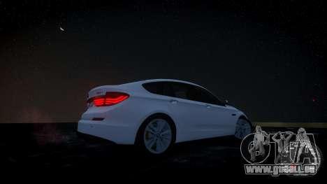 BMW GT F07 2012 GranTurismo pour GTA 4 Vue arrière de la gauche