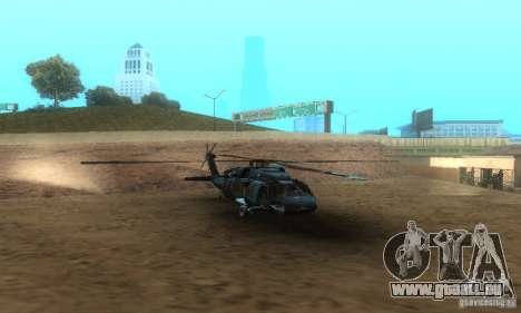 UH-60M Black Hawk für GTA San Andreas