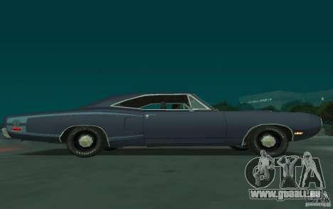 Dodge Coronet Super Bee 1970 pour GTA San Andreas vue arrière