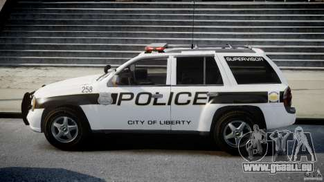 Chevrolet Trailblazer Police V1.5PD [ELS] pour GTA 4 est une gauche