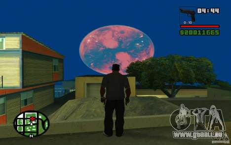 Nibiru-planète X pour GTA San Andreas