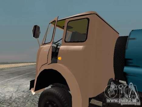 MAZ 503 pour GTA San Andreas laissé vue