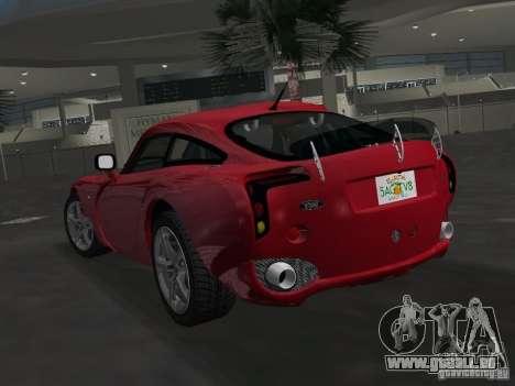 TVR Sagaris für GTA Vice City linke Ansicht