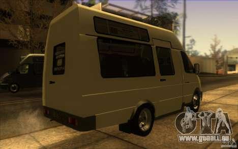 Gazelle SPV-16 Rue pour GTA San Andreas laissé vue