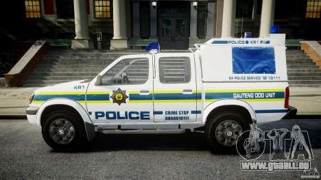 Nissan Frontier Essex Police Unit pour GTA 4 est une gauche