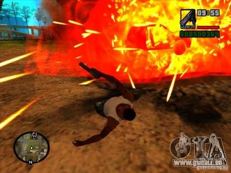 Müll von der explosion für GTA San Andreas