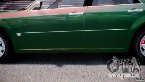 Chrysler 300C SRT8 Tuning pour GTA 4 est une vue de dessous