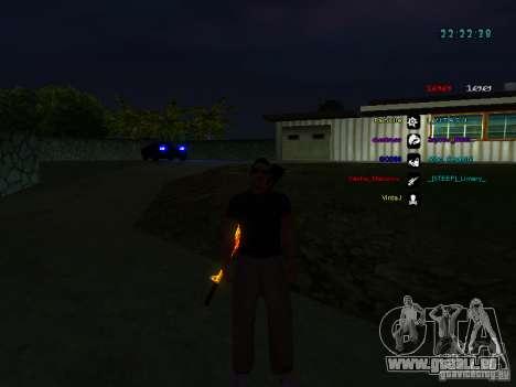 Nouveaux skins La Coza Nostry pour GTA: SA pour GTA San Andreas cinquième écran