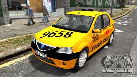 Dacia Logan Prestige Taxi pour GTA 4