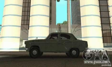 Moskvitch 407 1958 pour GTA San Andreas vue de droite