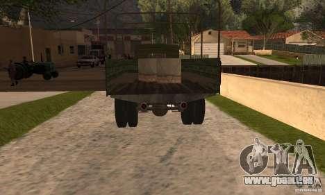 ZiS-5 pour GTA San Andreas laissé vue