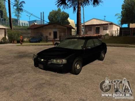Chevrolet Impala Undercover pour GTA San Andreas