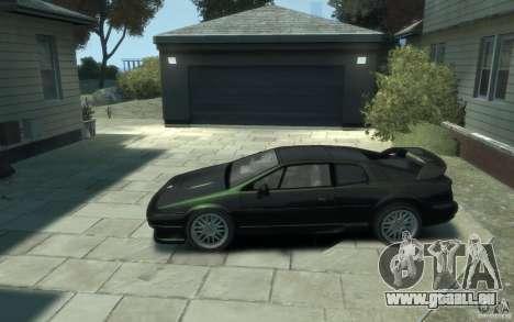 Lotus Esprit V8 pour GTA 4 est une gauche