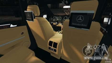 Mercedes-Benz ML63 (AMG) 2009 pour GTA 4 est un côté