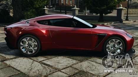 Aston Martin V12 Zagato 2011 v1.0 pour GTA 4 est une gauche