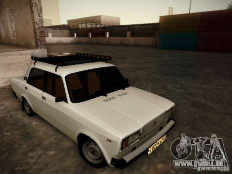 VAZ 2107 v2 pour GTA San Andreas