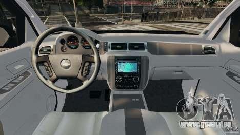 Chevrolet Avalanche 2007 [ELS] pour GTA 4 Vue arrière