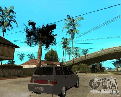 VAZ-2111 für GTA San Andreas zurück linke Ansicht