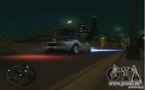 Xenon v4 pour GTA San Andreas deuxième écran