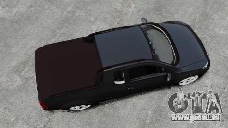 Volkswagen Saveiro Cross Edit für GTA 4 rechte Ansicht
