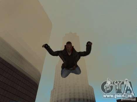 James Heller de Prototype 2 pour GTA San Andreas cinquième écran