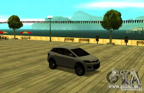 Mazda CX7 pour GTA San Andreas vue arrière