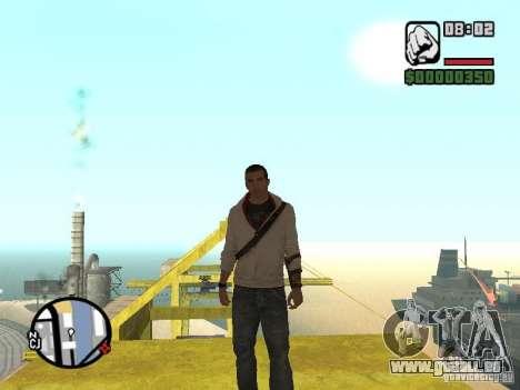 Desmond Miles pour GTA San Andreas deuxième écran