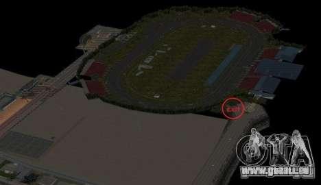 Nascar Rf pour GTA San Andreas quatrième écran