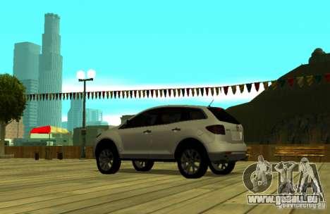 Mazda CX7 pour GTA San Andreas laissé vue