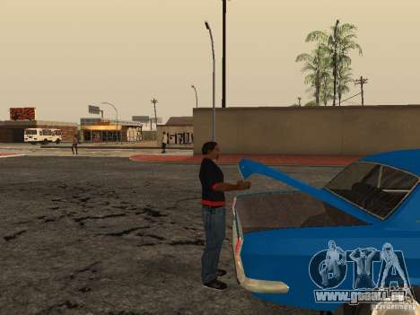 Ouvrez le coffre et capot manuellement pour GTA San Andreas quatrième écran