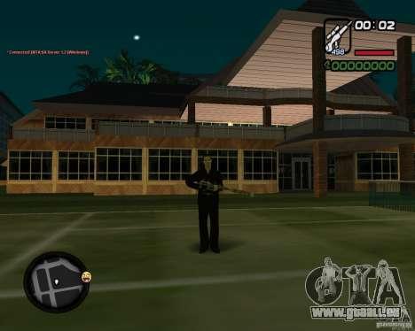 Sniper pour GTA San Andreas troisième écran
