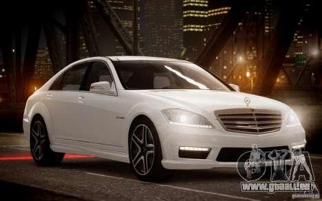 Mercedes-Benz S65 AMG 2012 v2.0 pour GTA 4 est une gauche