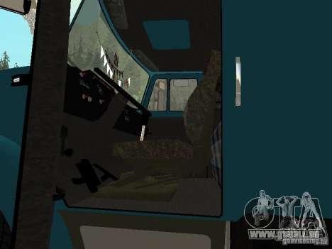 ZIL 133 pour GTA San Andreas vue intérieure