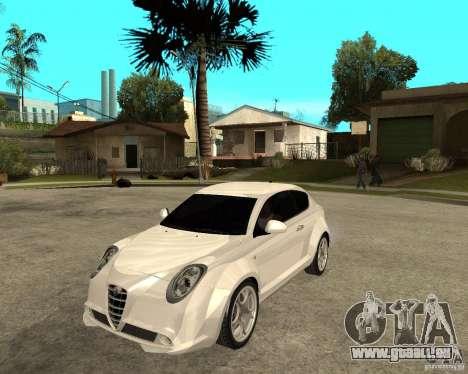 Alfa Romeo Mito für GTA San Andreas