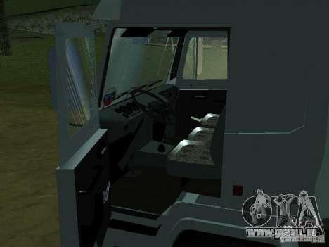 MAZ 5440 pour GTA San Andreas vue arrière