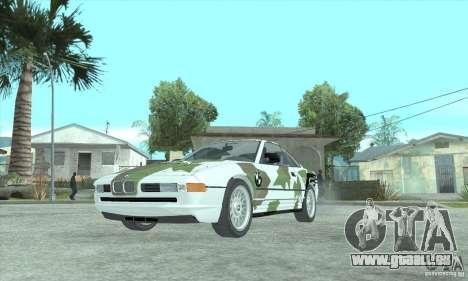 BMW 850i pour GTA San Andreas vue intérieure
