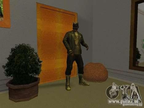 Skull Jacke für GTA San Andreas her Screenshot