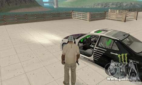 Lexus IS300 Drift Style pour GTA San Andreas vue arrière