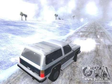 Snow MOD HQ V2.0 für GTA San Andreas achten Screenshot