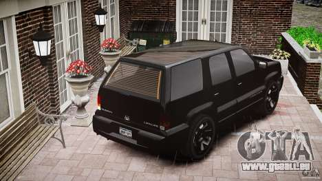 Cavalcade FBI car für GTA 4 Seitenansicht