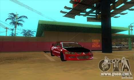 Mitsubishi Lancer Evolution IX Carbon V1.0 pour GTA San Andreas