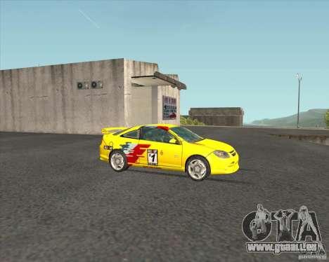 Chevrolet Cobalt SS für GTA San Andreas Innenansicht