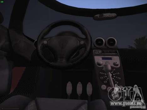 Koenigsegg CCX 2006 für GTA San Andreas Innenansicht