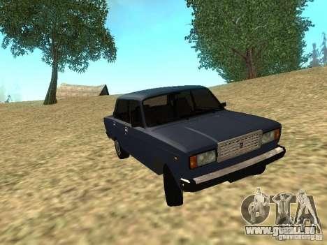 VAZ 2107 v1. 1 für GTA San Andreas