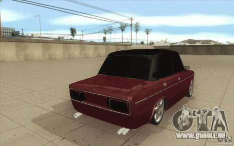 Lada VAZ 2106 pour GTA San Andreas vue de côté